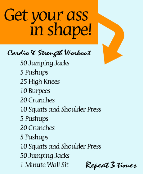 Great Cardio and Strength Workout