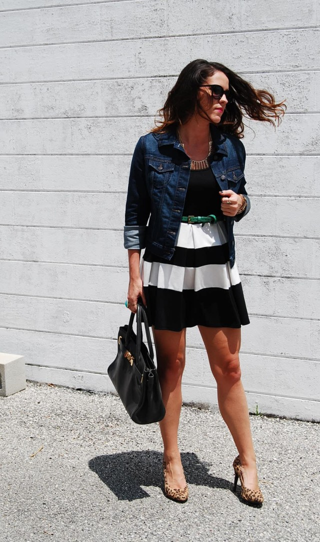 Striped Dress | three wishes style