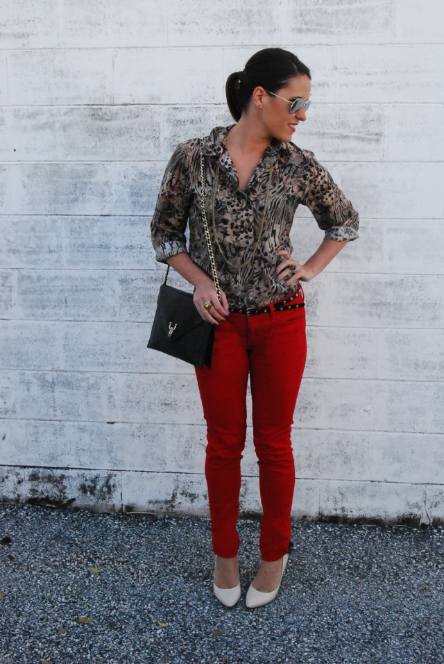 red leopard | three wishes style