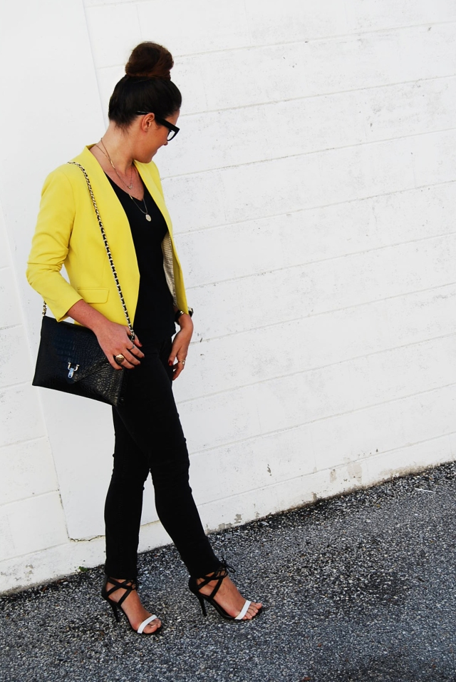 Black & Yellow | three wishes style