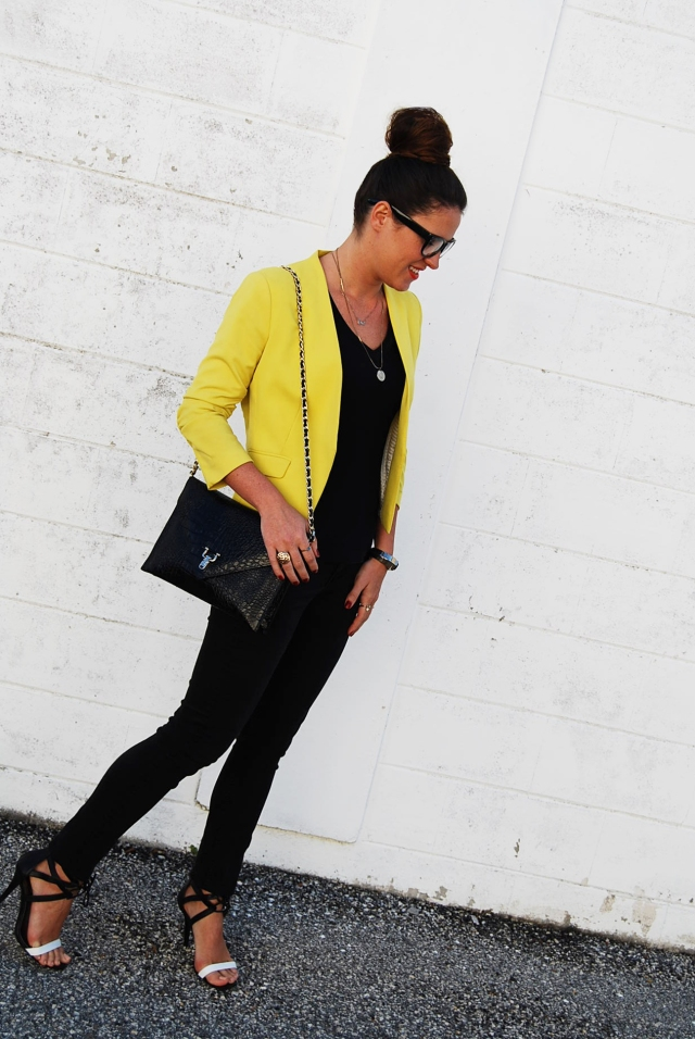 Black &Yellow | three wishes style