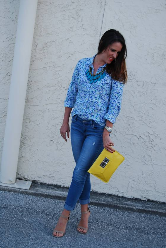 Floral shirt | three wishes style