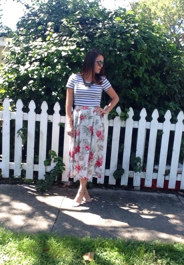 stripes & floral | three wishes style
