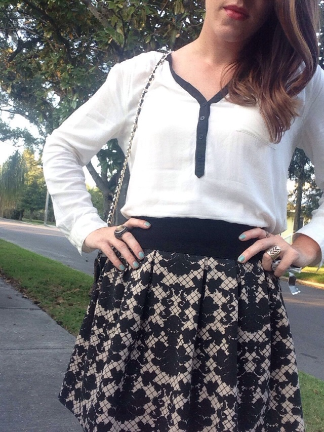 Flared Skirt | three wishes style