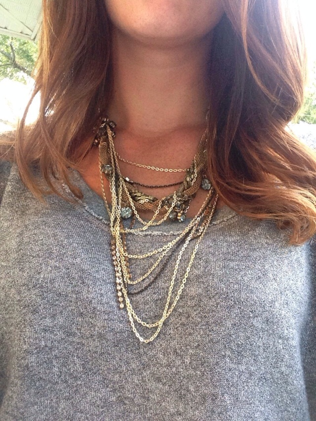 necklace | three wishes style