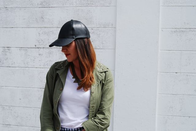 leather hat | three wishes style