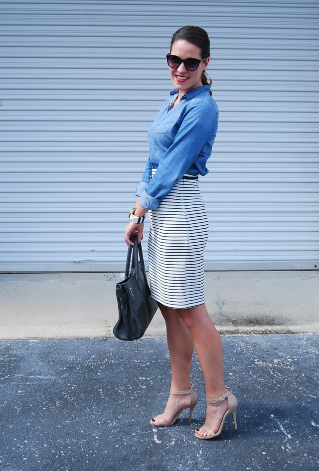 chambray & stripes | three wishes style