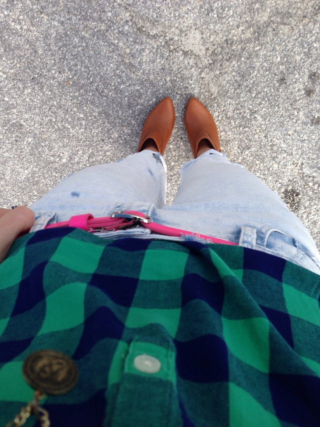 causal flannel | three wishes style