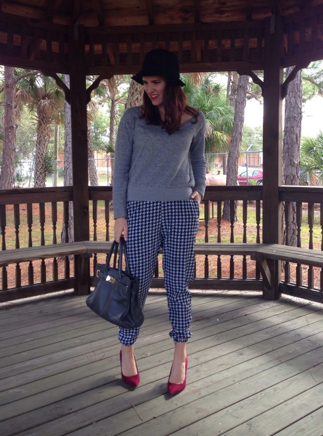 houndstooth and a hat | three wishes style