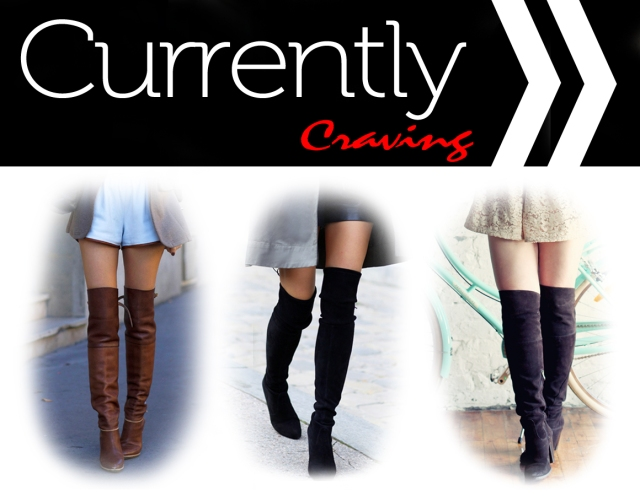 Craving  Over the Knee Boots
