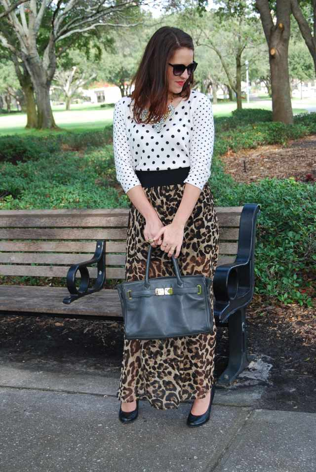 leopard skirt | three wishes style