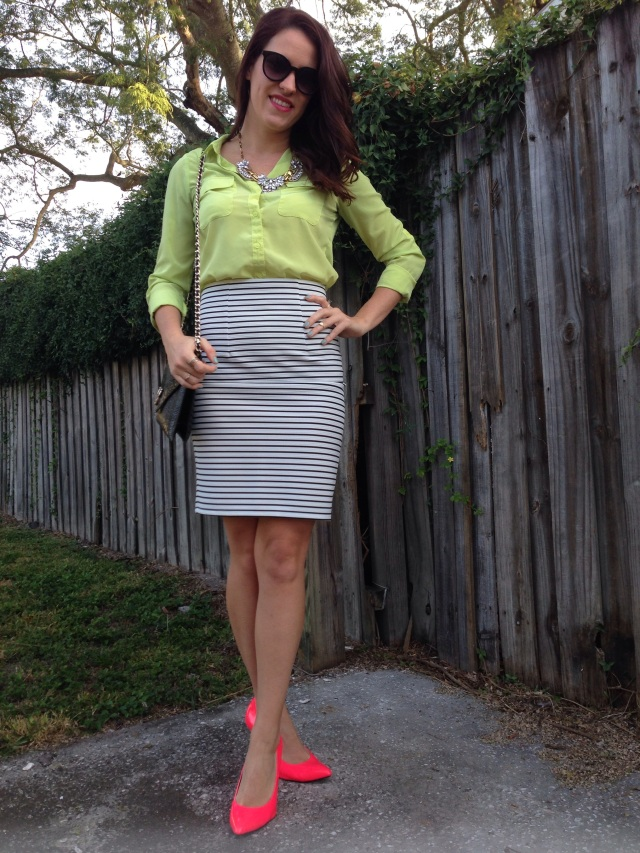 neon + stripes | three wishes style