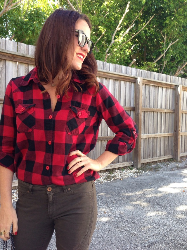 flannel | three wishes style
