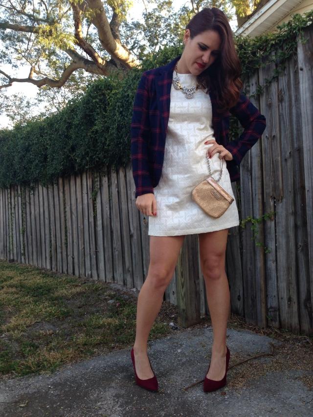 Blazer + Dress | three wishes style