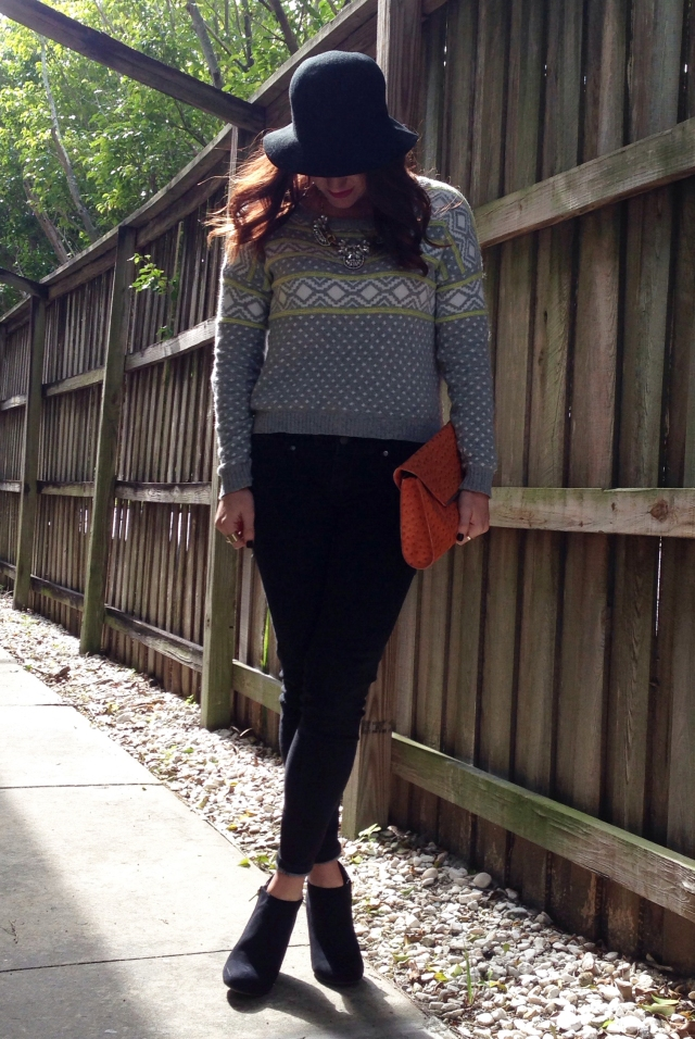 black jeans & a sweater | three wishes style