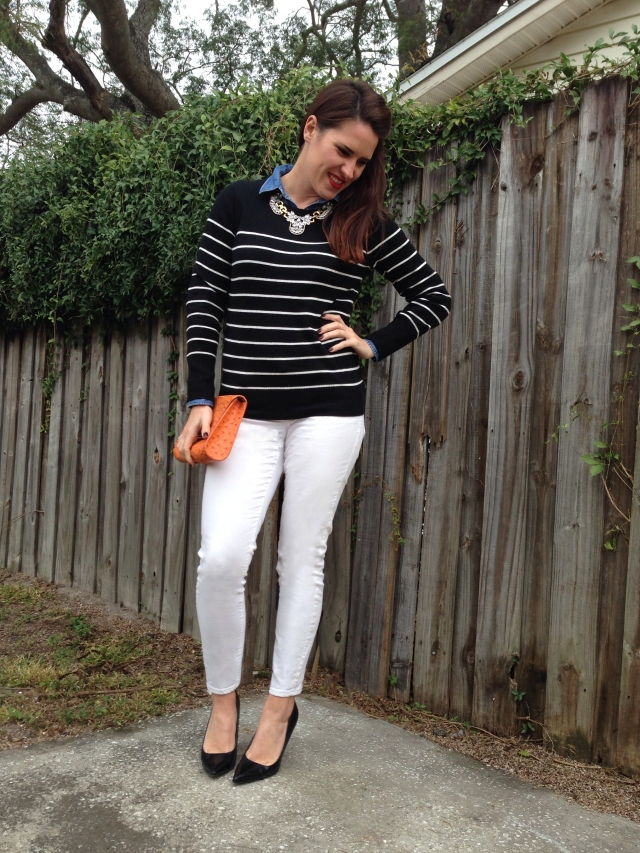 striped top  | three wishes style