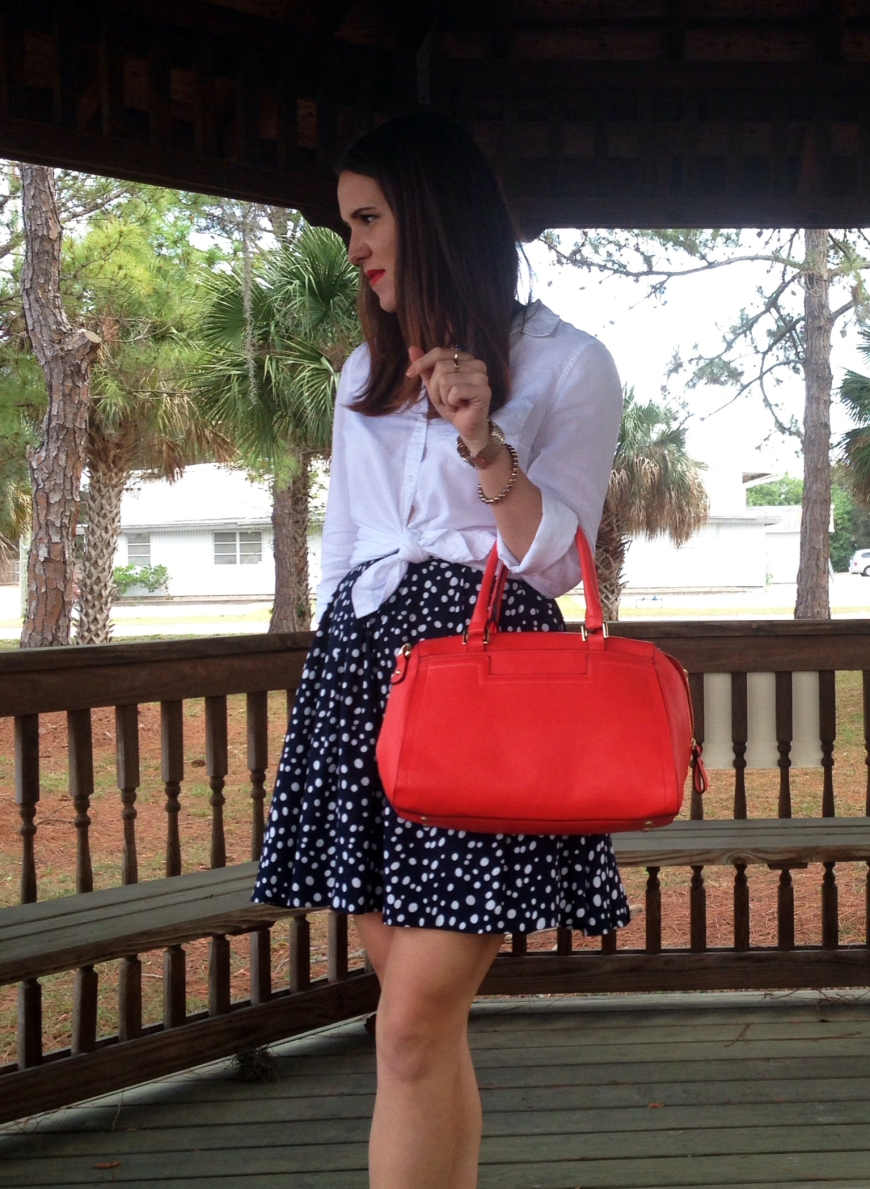 1orange purse | three wishes style