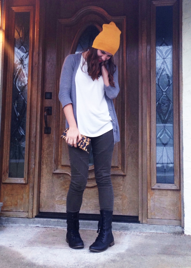 yellow beanie | three wishes style