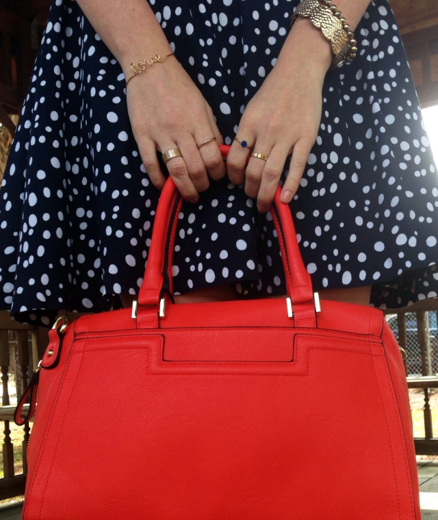 5orange purse | three wishes style