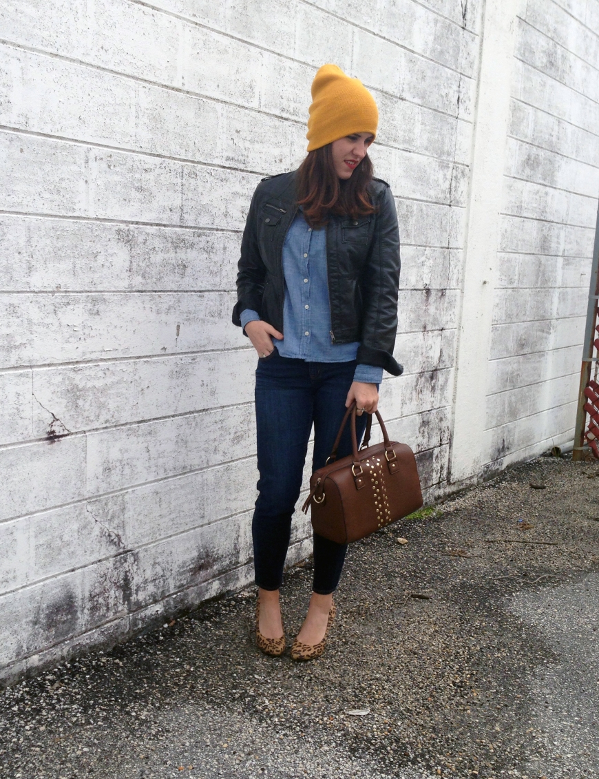 leather and jean | three wishes style