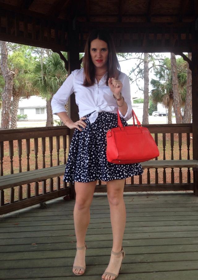 8orange purse | three wishes style