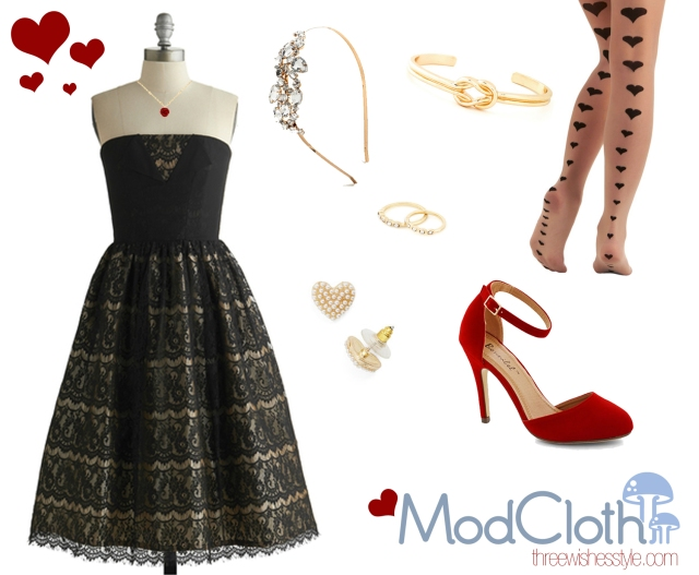 Valentine's Date Look | Modcloth