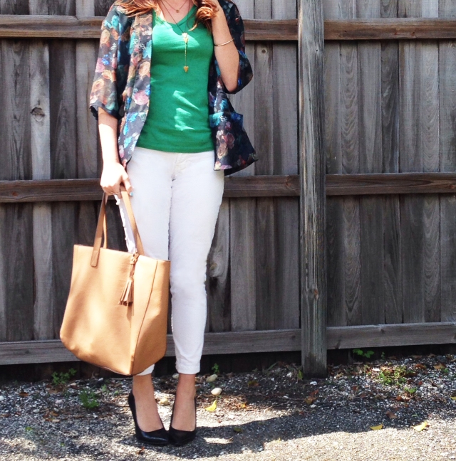 floral jacket | three wishes style