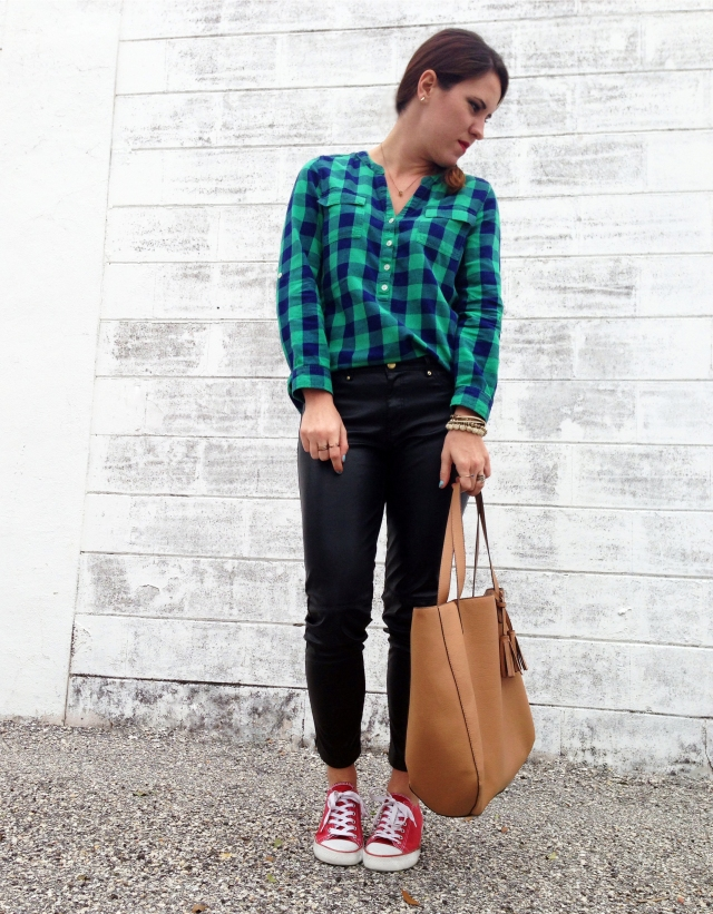 leather + flannel | three wishes style