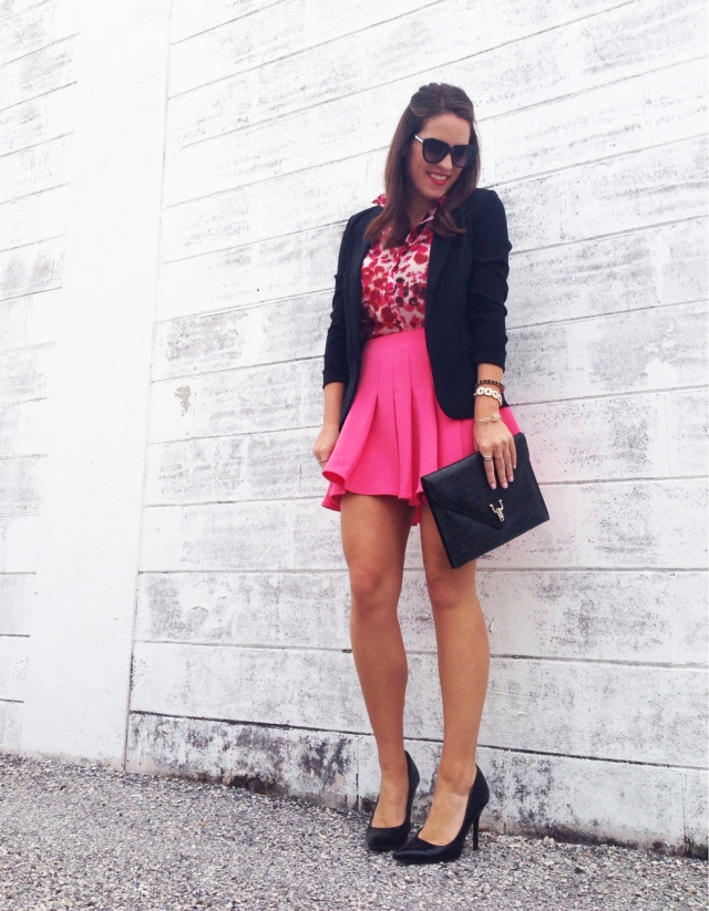 pink skirt | three wishes style