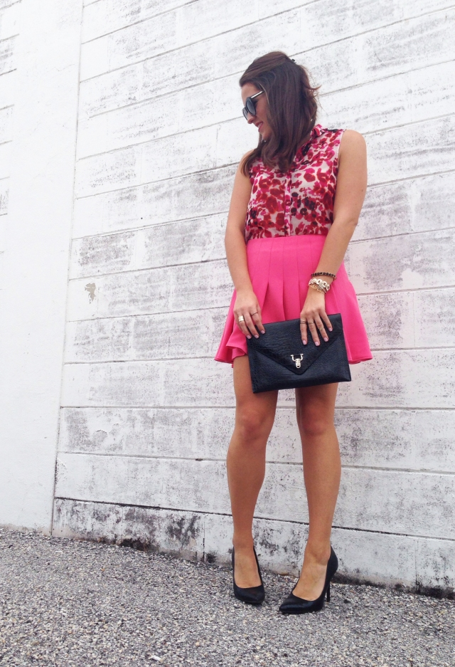 pink skirt | three wishes style