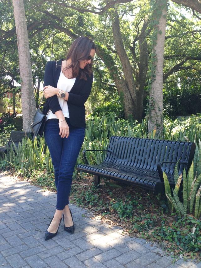 blazer | three wishes style