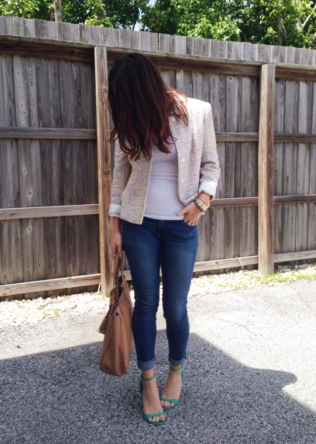 spring jacket | three wishes style