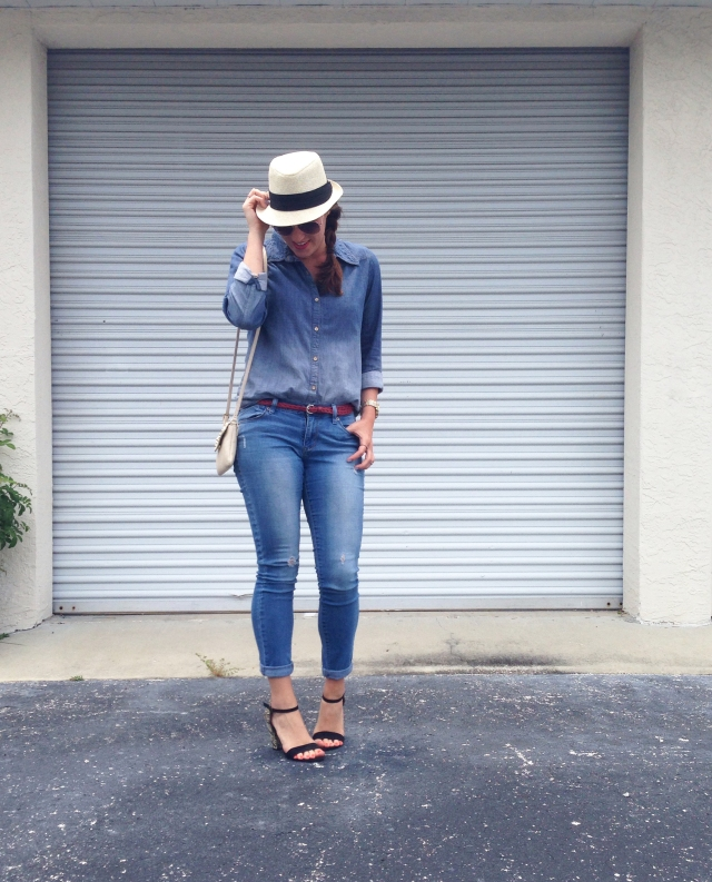 jean on jean | three wishes style