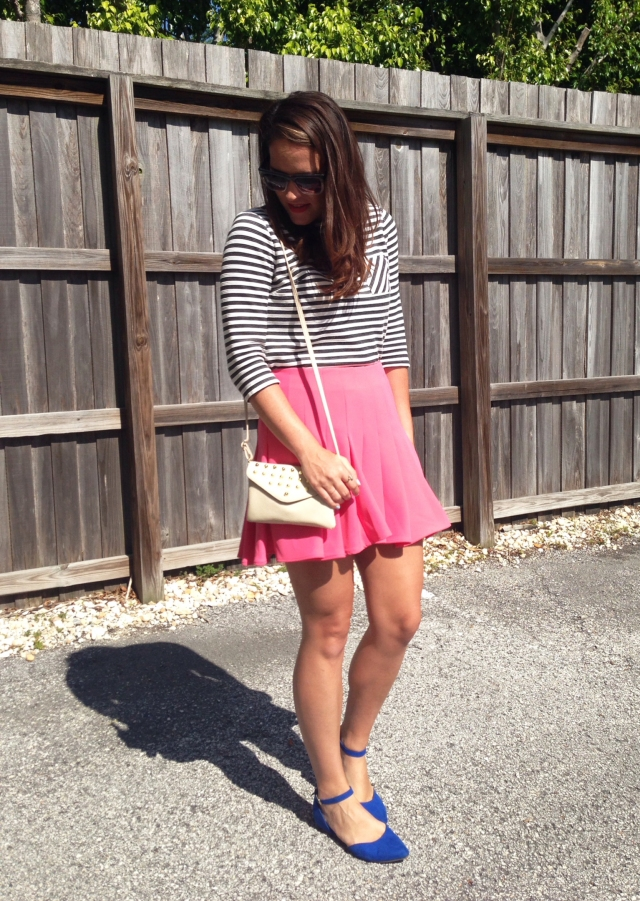 skirt + stripes | three wishes style