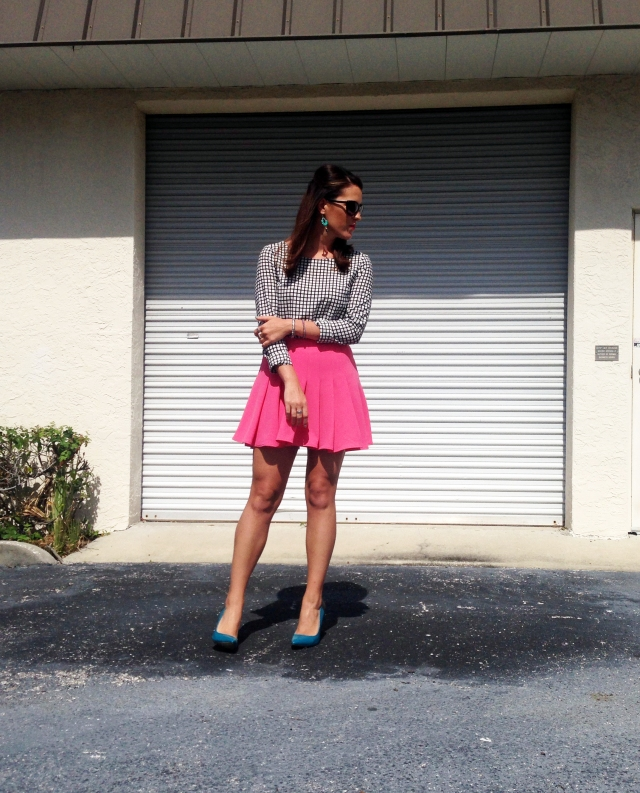 teal+pink+black | three wishes style