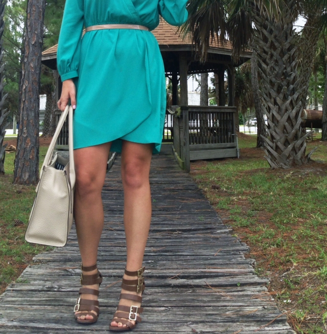 2teal dress | three wishes style