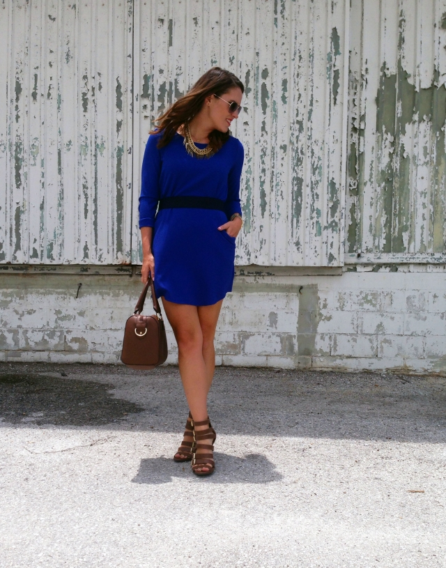 4 blue dress | three wishes style