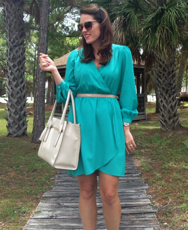 4teal dress | three wishes style