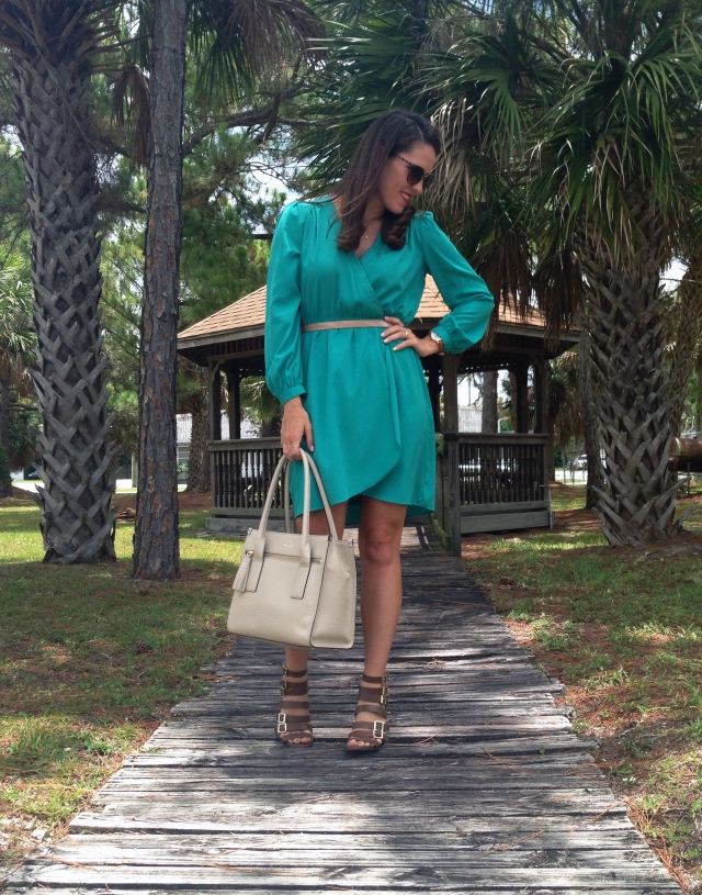 6teal dress | three wishes style