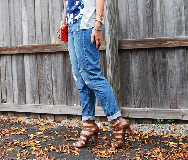 Boyfriend jeans | three wishes style