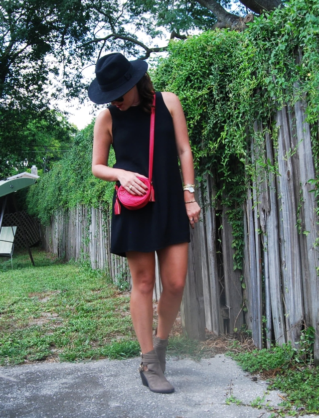 1black dress | three wishes style