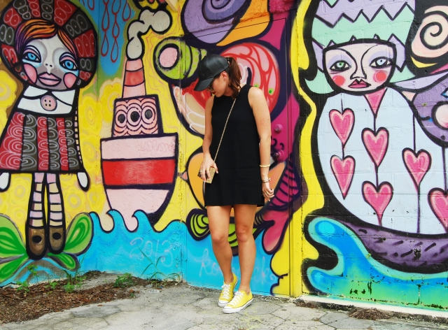 yellow converse | three wishes style