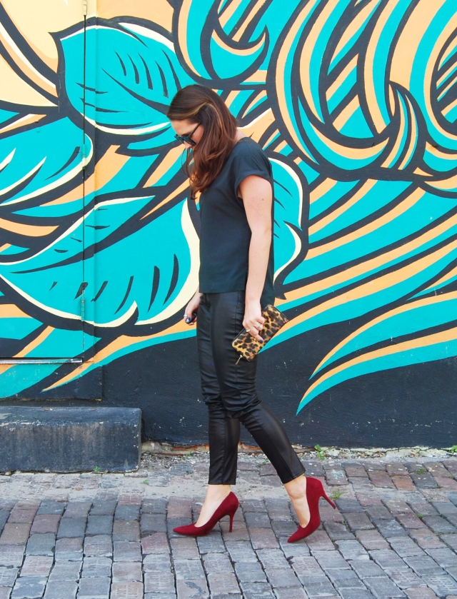 leather pants | three wishes style
