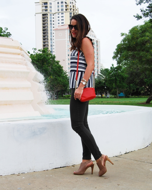 6 stripes + green pants | three wishes style