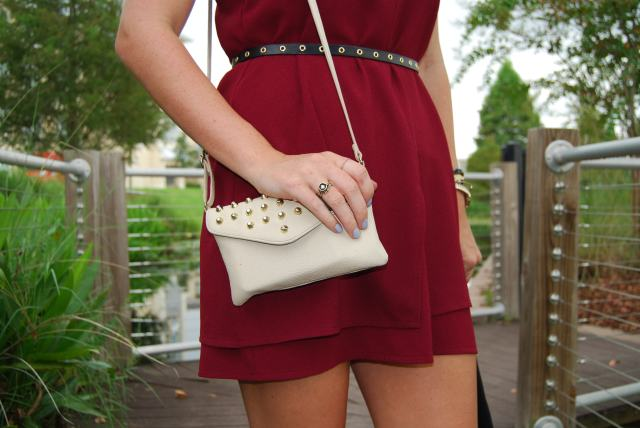 cranberry dress | three wishes style