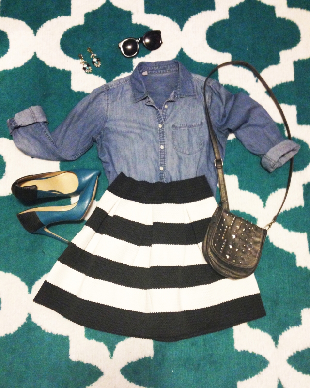 Striped Skirt3.1 copy