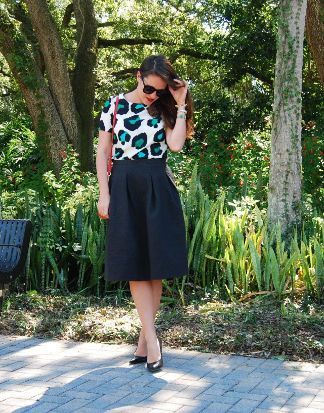 midi + leopard | three wishes style