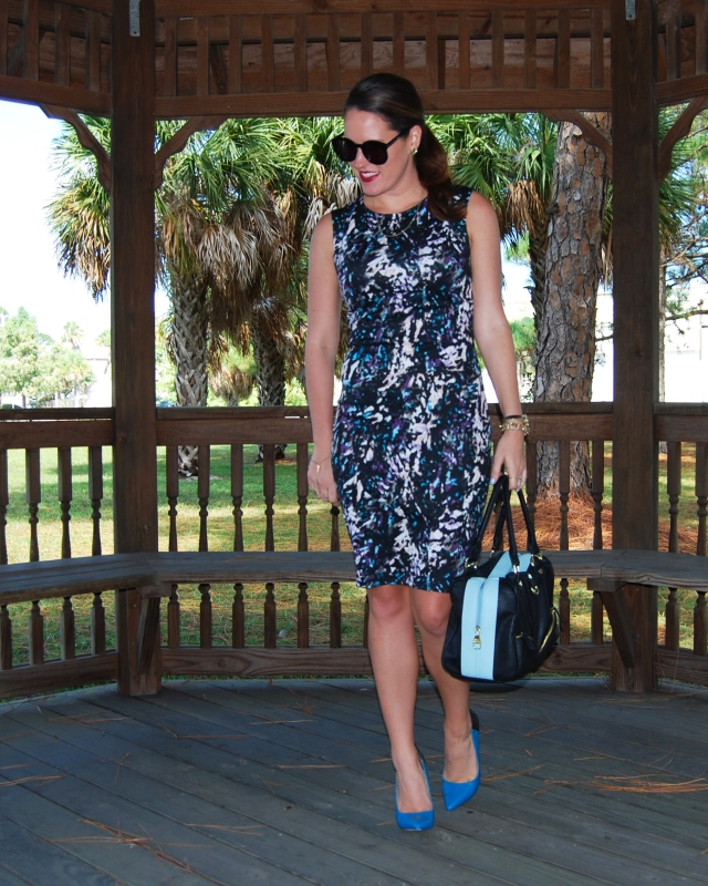 neoprene dress | three wishes style