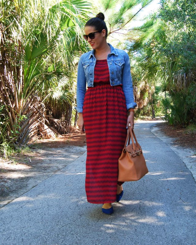 Maxi dress | three wishes style