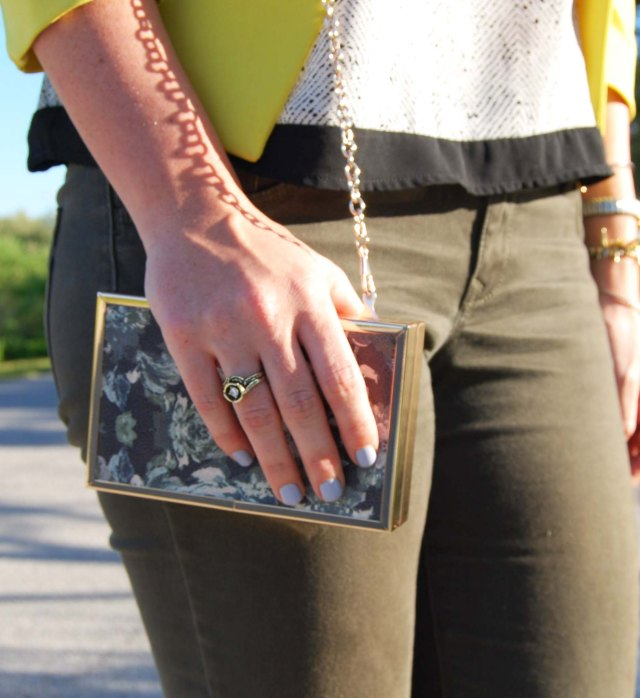 7green pants + yellow jacket | three wishes style